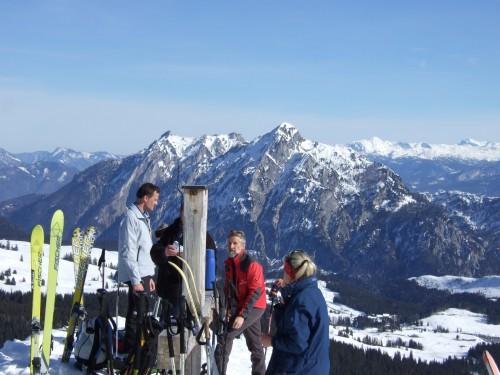 Foto: hofchri / Ski Tour / Pitschenberg (1720m) und Labenberg (1642m) von der Postalm / 21.12.2008 13:33:18