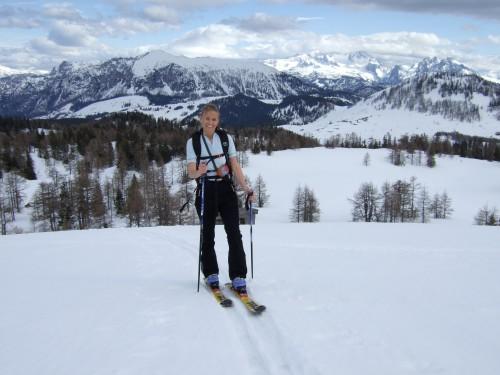 Foto: hofchri / Ski Tour / Pitschenberg (1720m) und Labenberg (1642m) von der Postalm / 21.12.2008 13:32:21