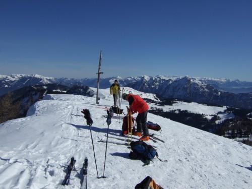 Foto: hofchri / Ski Tour / Pitschenberg (1720m) und Labenberg (1642m) von der Postalm / 21.12.2008 13:32:26