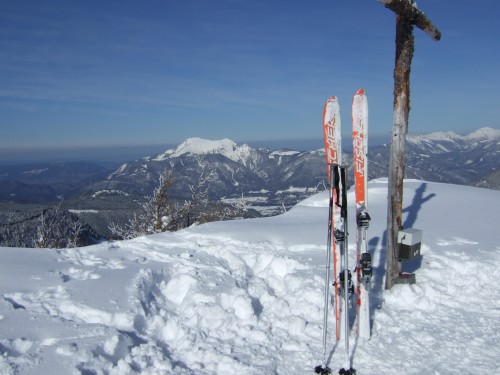 Foto: hofchri / Ski Tour / Pitschenberg (1720m) und Labenberg (1642m) von der Postalm / 21.12.2008 13:32:34