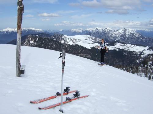 Foto: hofchri / Ski Tour / Pitschenberg (1720m) und Labenberg (1642m) von der Postalm / 21.12.2008 13:32:44