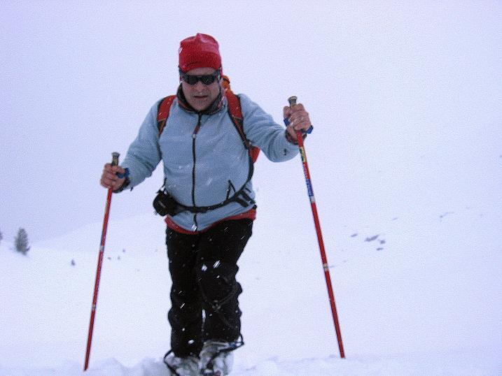 Foto: Andreas Koller / Ski Tour / Aus dem Val Müstair auf den Piz Dora (2951m) / Die freien Fächen der Era da la Bescha / 23.12.2008 16:14:39