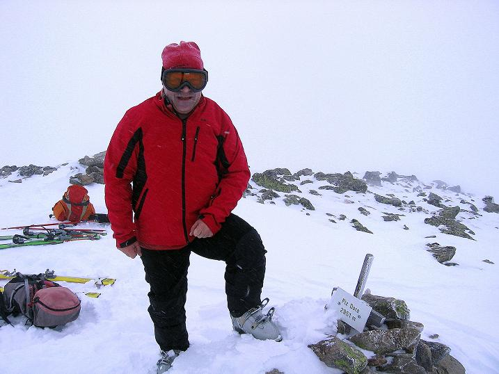Foto: Andreas Koller / Ski Tour / Aus dem Val Müstair auf den Piz Dora (2951m) / Gipfelrast / 23.12.2008 16:12:12