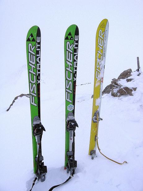 Foto: Andreas Koller / Ski Tour / Aus dem Val Müstair auf den Piz Dora (2951m) / Am Piz Dora / 23.12.2008 16:12:00