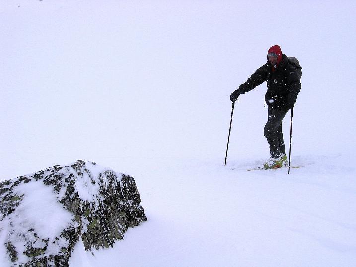 Foto: Andreas Koller / Ski Tour / Aus dem Val Müstair auf den Piz Dora (2951m) / Bei Pulverschnee ein Vergnügen / 23.12.2008 16:09:47