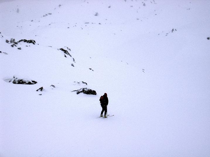 Foto: Andreas Koller / Ski Tour / Aus dem Val Müstair auf den Piz Dora (2951m) / Weite und freie Hänge im oberen Bereich / 23.12.2008 16:09:27
