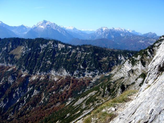 Foto: Manfred Karl / Kletter Tour / Südwand III+ / Beim Einstieg / 17.07.2009 17:47:04