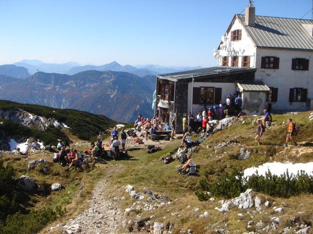 Foto: Manfred Karl / Kletter Tour / Südwand III+ / Alle haben Durst an diesem heißen Tag / 17.07.2009 17:52:19