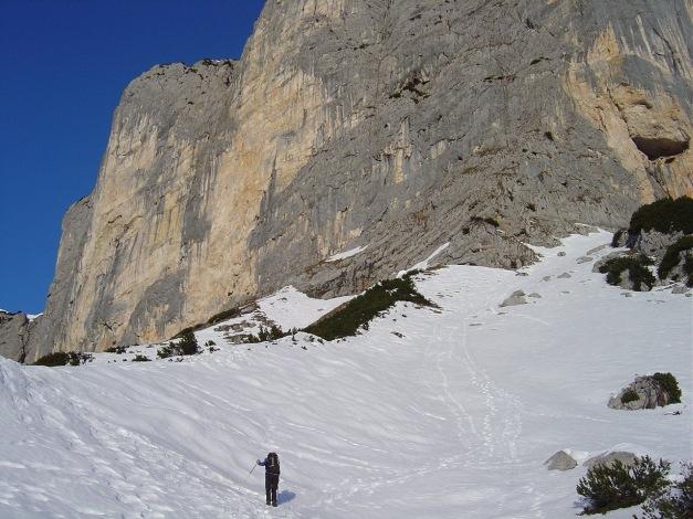 Foto: Manfred Karl / Kletter Tour / Südwand III+ / Im Winter herrscht meist die große Ruhe! / 17.07.2009 17:54:11