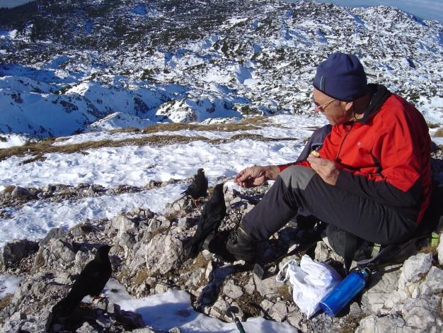 Foto: Manfred Karl / Kletter Tour / Südwand III+ / Es liegt noch wenig Schnee / 17.07.2009 17:55:45