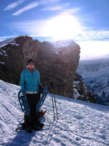 Foto: Andreas Koller / Schneeschuh Tour / Schneeschuh-Trail aufs Faulhorn (2681m) / Ausgangspunkt First / 06.01.2009 23:53:50