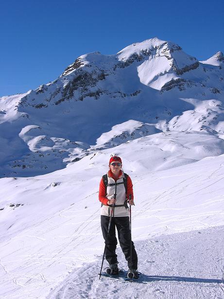 Foto: Andreas Koller / Schneeschuh Tour / Schneeschuh-Trail aufs Faulhorn (2681m) / Vor dem Reeti (2757 m) / 06.01.2009 23:45:28
