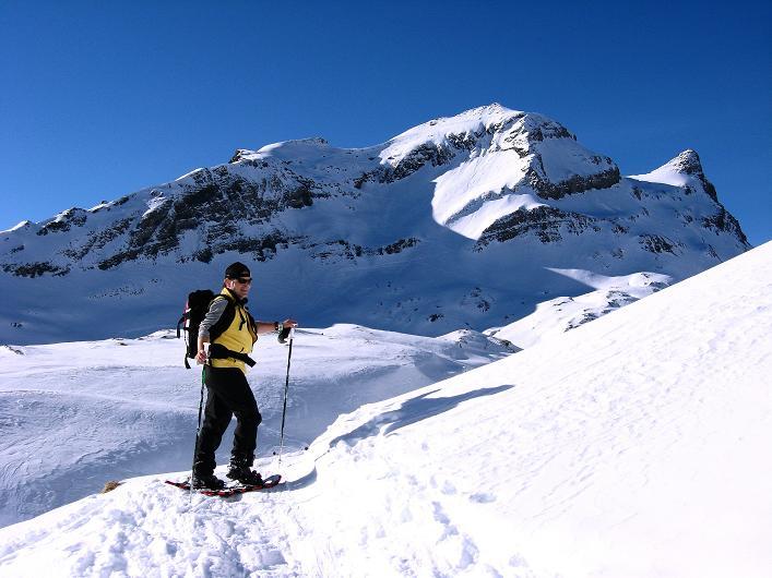 Foto: Andreas Koller / Schneeschuh Tour / Schneeschuh-Trail aufs Faulhorn (2681m) / Reeti (2757 m) und Simelihorn (2751 m) / 06.01.2009 23:43:33