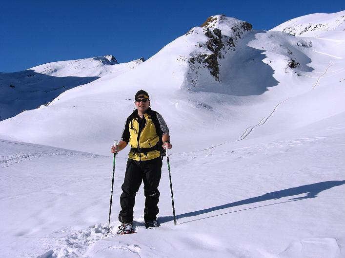 Foto: Andreas Koller / Schneeschuh Tour / Schneeschuh-Trail aufs Faulhorn (2681m) / Blick aufs Faulhorn / 06.01.2009 23:42:22