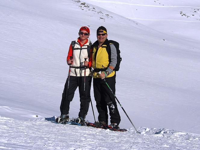 Foto: Andreas Koller / Schneeschuh Tour / Schneeschuh-Trail aufs Faulhorn (2681m) / Rast beim Bachsee / 06.01.2009 23:38:04
