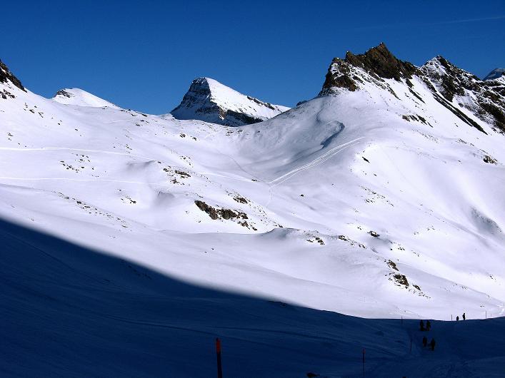 Foto: Andreas Koller / Schneeschuh Tour / Schneeschuh-Trail aufs Faulhorn (2681m) / Schwarzhorn (2928 m) / 06.01.2009 23:35:44