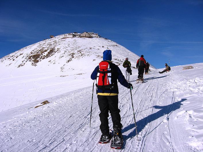 Foto: Andreas Koller / Schneeschuh Tour / Schneeschuh-Trail aufs Faulhorn (2681m) / Dem Faulhorn entgegen / 06.01.2009 23:30:37