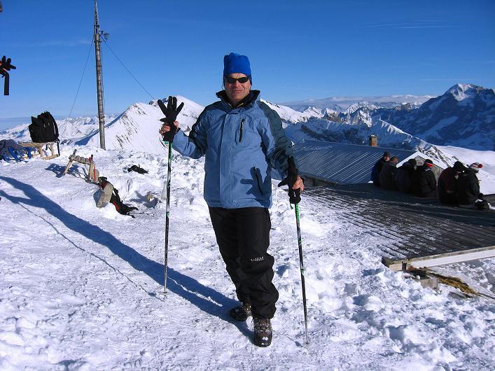 Foto: Andreas Koller / Schneeschuh Tour / Schneeschuh-Trail aufs Faulhorn (2681m) / Am Faulhorn / 06.01.2009 23:21:28