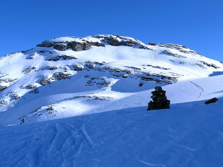 Foto: Andreas Koller / Ski Tour / Vom Gemmipass auf das Daubenhorn (2942 m) / Das Daubenhorn / 08.01.2009 01:25:15