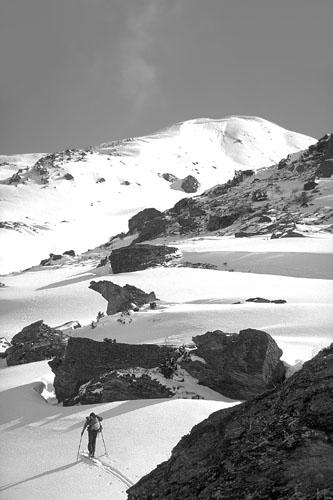 Foto: Kurt Schall / Ski Tour / BLEIS MUNTANEALA, 2452 m / 15.01.2009 12:50:01