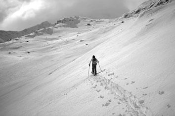 Foto: Kurt Schall / Ski Tour / CHALCHAGN PITSCHEN, 2789 m / 15.01.2009 13:19:36