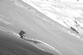 Foto: Kurt Schall / Ski Tour / EGGBERG, 2202 m / 15.01.2009 13:27:13