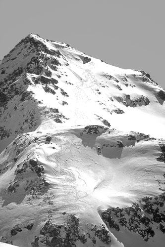 Foto: Kurt Schall / Ski Tour / FANELLHORN, 3123 m / 15.01.2009 13:31:10