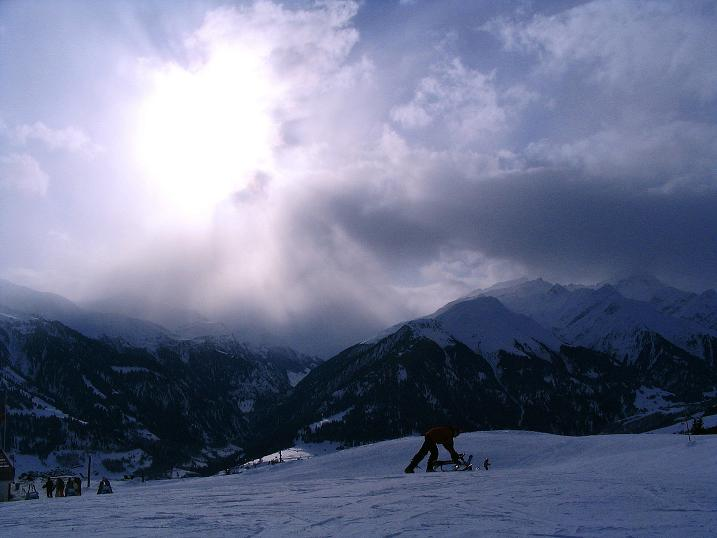 Foto: Andreas Koller / Ski Tour / Aus dem Val Lumnezia auf den Piz Sezner (2309m) / 08.01.2009 22:08:14