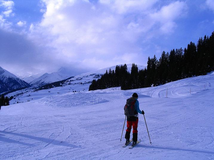 Foto: Andreas Koller / Ski Tour / Aus dem Val Lumnezia auf den Piz Sezner (2309m) / 08.01.2009 22:07:37