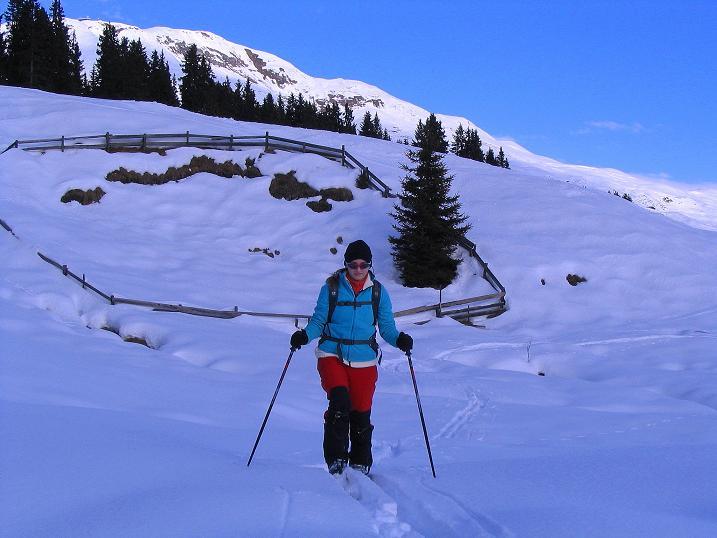 Foto: Andreas Koller / Ski Tour / Aus dem Val Lumnezia auf den Piz Sezner (2309m) / 08.01.2009 22:07:17