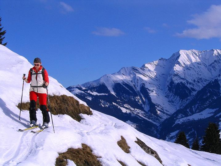 Foto: Andreas Koller / Ski Tour / Aus dem Val Lumnezia auf den Piz Sezner (2309m) / 08.01.2009 22:06:57