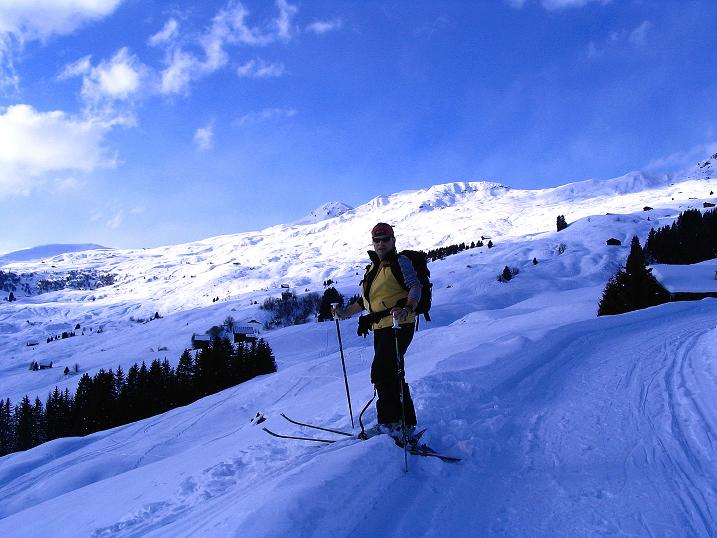 Foto: Andreas Koller / Ski Tour / Aus dem Val Lumnezia auf den Piz Sezner (2309m) / 08.01.2009 22:06:42