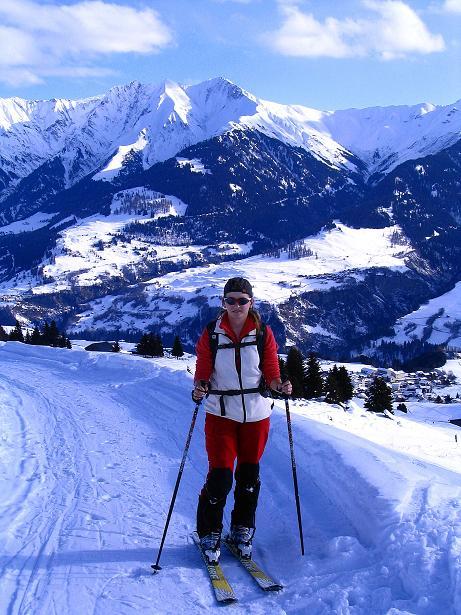 Foto: Andreas Koller / Ski Tour / Aus dem Val Lumnezia auf den Piz Sezner (2309m) / 08.01.2009 22:06:17