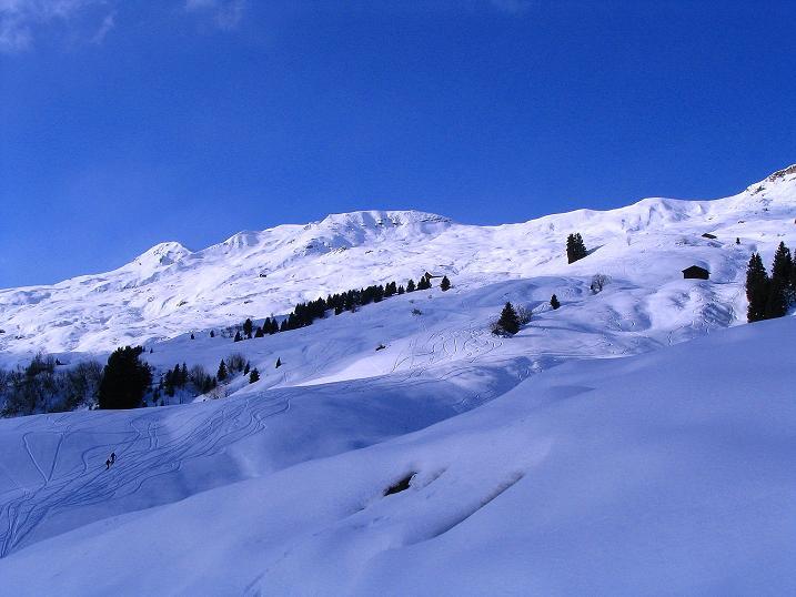 Foto: Andreas Koller / Ski Tour / Aus dem Val Lumnezia auf den Piz Sezner (2309m) / 08.01.2009 22:06:10