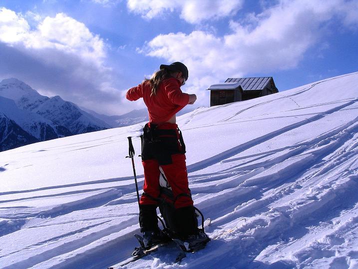 Foto: Andreas Koller / Ski Tour / Aus dem Val Lumnezia auf den Piz Sezner (2309m) / 08.01.2009 22:05:57