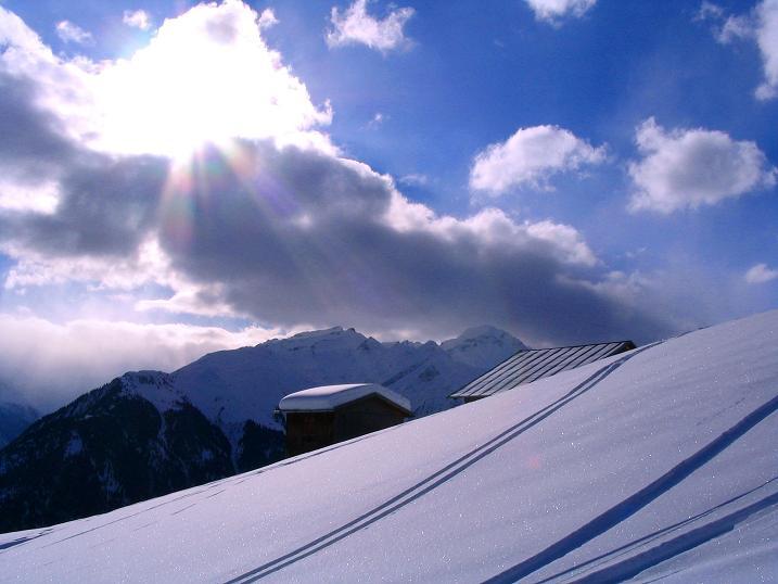 Foto: Andreas Koller / Ski Tour / Aus dem Val Lumnezia auf den Piz Sezner (2309m) / 08.01.2009 22:05:45