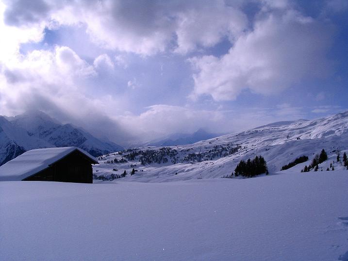 Foto: Andreas Koller / Ski Tour / Aus dem Val Lumnezia auf den Piz Sezner (2309m) / 08.01.2009 22:04:45