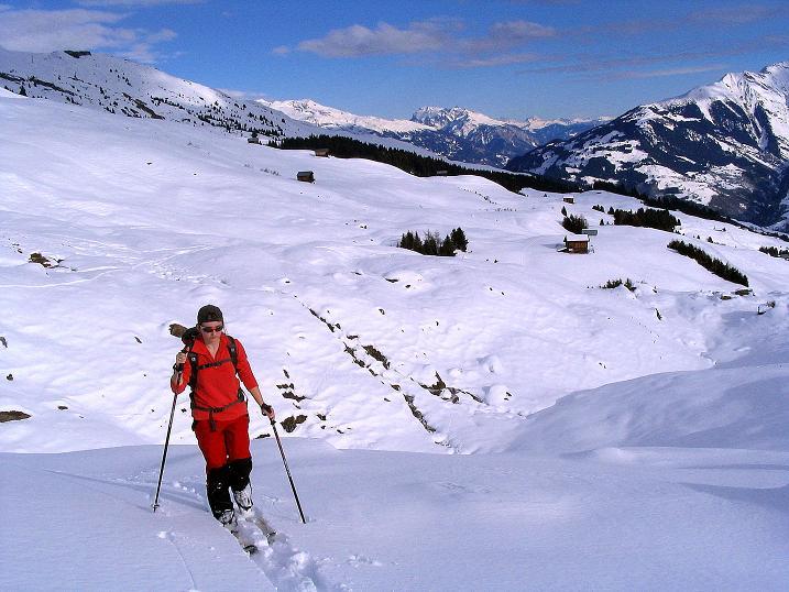 Foto: Andreas Koller / Ski Tour / Aus dem Val Lumnezia auf den Piz Sezner (2309m) / 08.01.2009 22:03:53