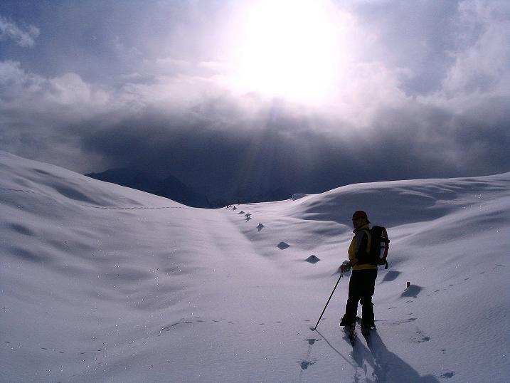 Foto: Andreas Koller / Ski Tour / Aus dem Val Lumnezia auf den Piz Sezner (2309m) / 08.01.2009 22:03:46
