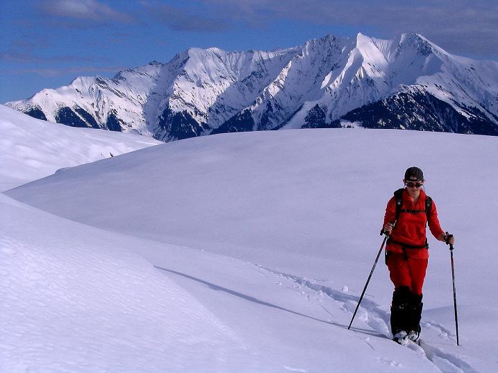 Foto: Andreas Koller / Ski Tour / Aus dem Val Lumnezia auf den Piz Sezner (2309m) / 08.01.2009 22:03:31