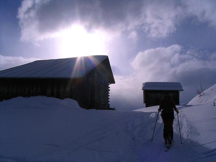 Foto: Andreas Koller / Ski Tour / Aus dem Val Lumnezia auf den Piz Sezner (2309m) / 08.01.2009 22:03:24