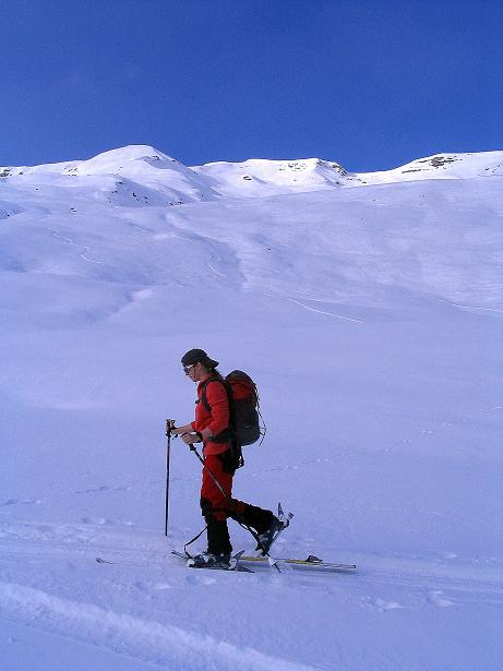 Foto: Andreas Koller / Ski Tour / Aus dem Val Lumnezia auf den Piz Sezner (2309m) / 08.01.2009 22:03:16