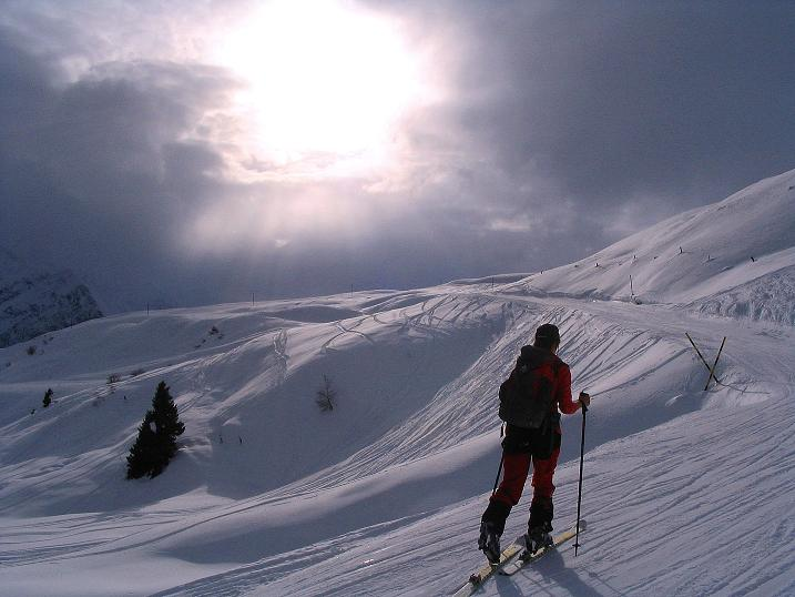Foto: Andreas Koller / Ski Tour / Aus dem Val Lumnezia auf den Piz Sezner (2309m) / 08.01.2009 22:02:05