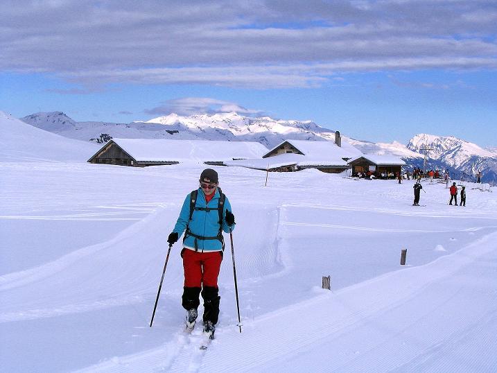 Foto: Andreas Koller / Ski Tour / Aus dem Val Lumnezia auf den Piz Sezner (2309m) / 08.01.2009 22:00:49
