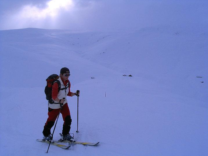 Foto: Andreas Koller / Ski Tour / Aus dem Val Lumnezia auf den Piz Sezner (2309m) / 08.01.2009 22:00:19