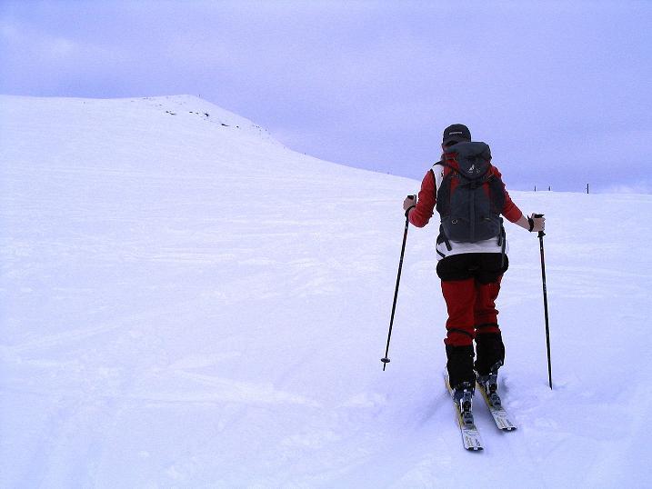 Foto: Andreas Koller / Ski Tour / Aus dem Val Lumnezia auf den Piz Sezner (2309m) / 08.01.2009 22:00:13