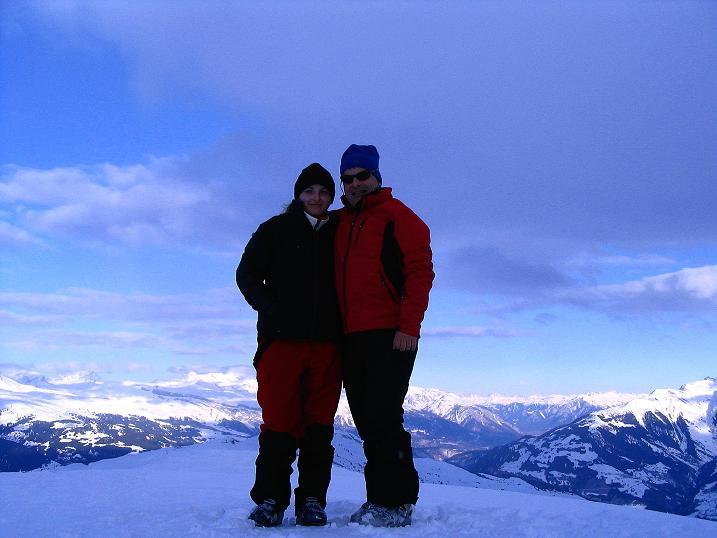 Foto: Andreas Koller / Ski Tour / Aus dem Val Lumnezia auf den Piz Sezner (2309m) / 08.01.2009 21:59:09