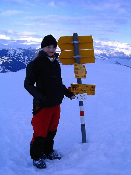 Foto: Andreas Koller / Ski Tour / Aus dem Val Lumnezia auf den Piz Sezner (2309m) / 08.01.2009 21:59:02