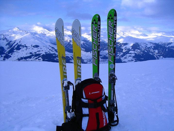 Foto: Andreas Koller / Ski Tour / Aus dem Val Lumnezia auf den Piz Sezner (2309m) / 08.01.2009 21:58:29