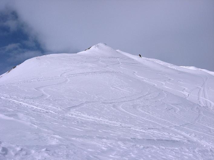Foto: Andreas Koller / Ski Tour / Piz da Vrin (2563m) / Gipfelhänge / 09.01.2009 00:26:43